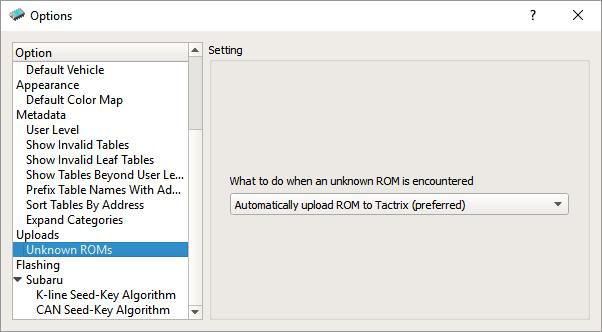 ECU Flash send ROM